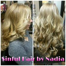 Hair Extensions Using Beads by Services