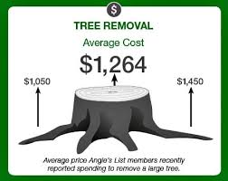 how much does tree removal cost angie s list