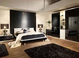 asian bedroom set two glossy round small tables glossy black wood
