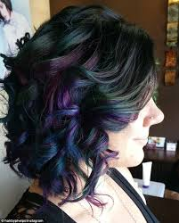 flesh color hair trend 2015 new hair trend sees rainbow stripes used to give locks an oil