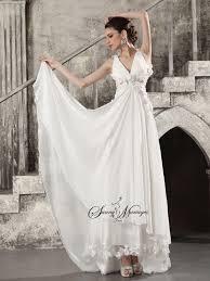 robe de mariã e sur mesure pas cher robe de mariee empire fluide en mousseline style boheme chic robe