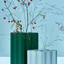 Log Vases Small Nuage Vase Silver