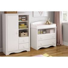 South Shore Andover Changing Table South Shore Heavenly Changing Table And Armoire With Drawers