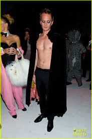 neil patrick harris shirtless at just jared halloween party