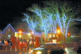 ardrossan festive lights hit a problem but the show will go on