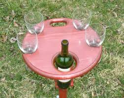 outdoor wine glass holder table folding wine table outdoor wine glass holder picnic wine