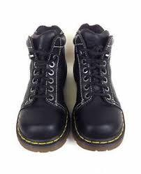 womens walking boots ebay uk dr martens airwair black leather slip on sandals slides us