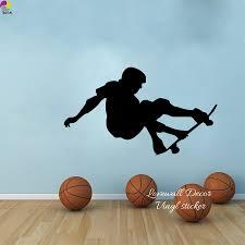 sport en chambre x 97 cm x 56 cm planche à roulettes mur autocollant chambre boy