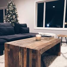 west elm wood coffee table emmerson reclaimed wood coffee table apartment living pinterest