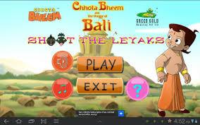 chhota bheem shoot the leyaks android apps on google play