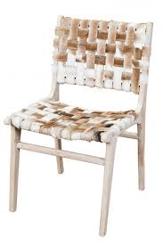 woven cowhide dining chair house ideas pinterest dining