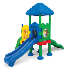 Playground Flooring Lowes by Shop Ultra Play Discovery Center 2 Commercial Playset At Lowes Com
