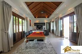 4 bed balinese style private pool villa hua hin