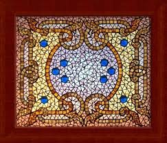 artistic and aesthetic mosaic glass ornaments decoration home
