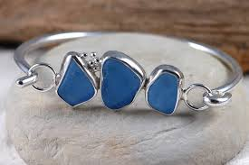 glass bracelet images Sea glass bracelets JPG