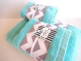 creative of grey and blue towels grey chevron and aqua towel