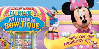 minnie s bowtique mickey mouse clubhouse presents minnie s bow tique toonbarntoonbarn