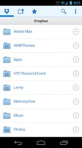 dropbox app for android dropbox s new android app delivers ics support new ui