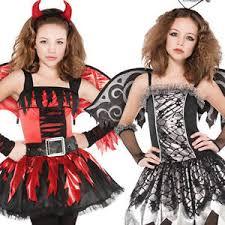 Halloween Costumes Girls Age 16 Angel Devil Wings Age 12 16 Halloween Fancy Dress Girls Teen