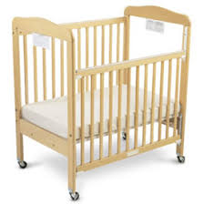 Side Crib For Bed Serenity Compact Size Drop Side Crib By Foundations