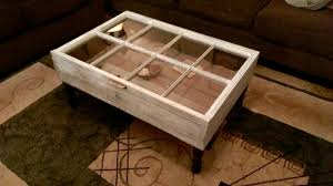 Coffee Table Box On Sale Wood Window Shadow Box Coffee Table Distressed