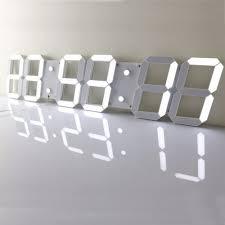 led wall clock wall clocks decoration