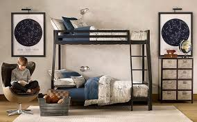 bedroom ideas for guys with nice bunk beds and blue and white