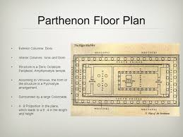 floor plan of the parthenon the parthenon columns and entablature ppt video online download