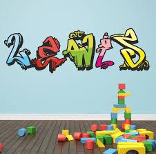 graffiti stickers for walls custom wall stickers full image for printable coloring graffiti name wall decals 28 personalized graffiti wall stickers personalised graffiti