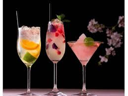 want to enjoy at evenings three selected cherry blossoms
