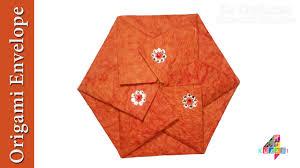 easy origami paper envelope origami crafts tutorial christmas