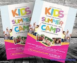 50 best kids summer camp flyer print templates 2017 frip in