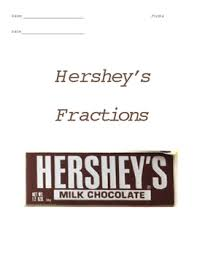 fractions with hersheys teaching resources teachers pay teachers