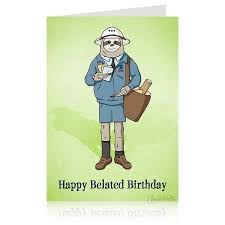 sloth belated birthday card u2013 archie mcphee