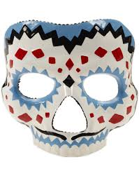 day of the dead female mask halloween accessory walmart com