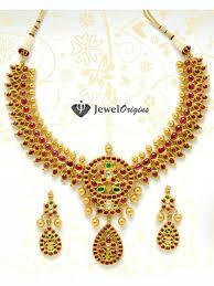 gold necklace sets designs images Ruby necklace set designer gold and jpg