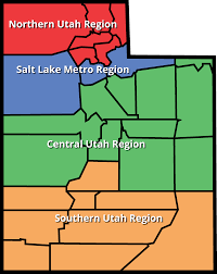 Utah Counties Map Outreach Utah Dept Of Veterans And Military Affairs