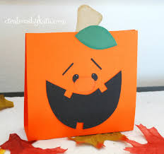 pumpkin treat bag tutorial