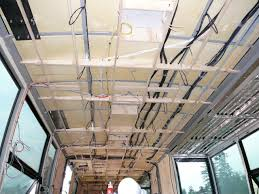 renal dialysis mobile medical unit rough in electrical wiring in