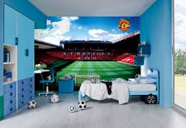 football team wall murals manchester united old trafford stadium mural