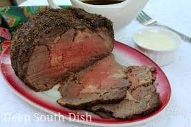 deep south dish boneless prime rib beef roast with au jus