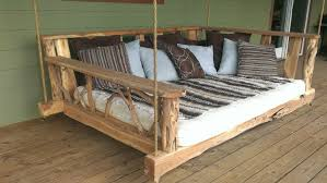 porch swing bed twin fantastic ideas for wooden porch swings