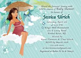 Mod Baby Shower by Umbrella Baby Shower Invitations Free Printable Invitation Design