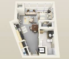 Floor Plan Apartment Design 48 Best Tiny Room Images On Pinterest Apartment Ideas