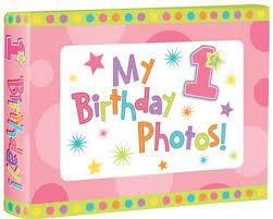 birthday photo album birthday girl photo album