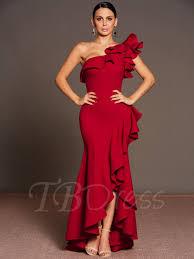 tb dress one shoulder falbala women s maxi dress tbdress