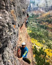 Telluride Colorado Map by Telluride U0027s Via Ferrata Isn U0027t For The Faint Of Heart Outthere