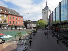 Stadt Baden Baden öffentlicher Raum Hat Potenzial Limmatstadt Das Limmattal Von