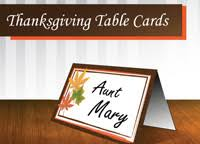 free printable thanksgiving place cards napkin wrappers