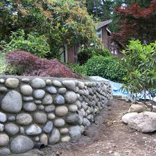 orirginal ideas about rock retaining wall images and photos
